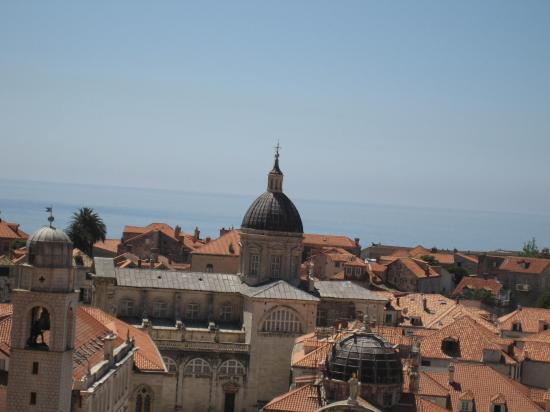 Hotel Bellevue Dubrovnik: view from the top of the old city wall