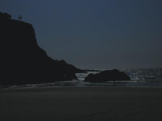 باين بيتش إن: Private beach area