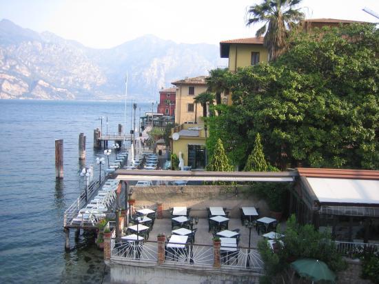 Hotel Sirena: Blick vom Balkon