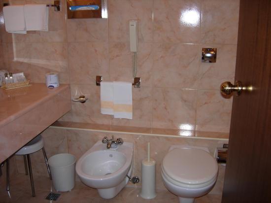 Accademia Hotel: toilet