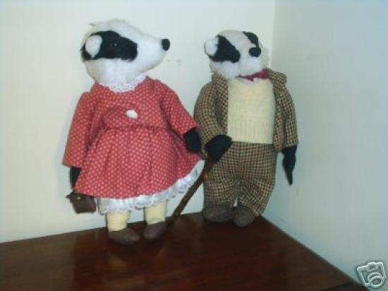 Badger Towers: Mr and Mrs Badger