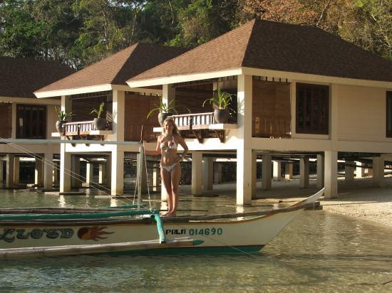 El Nido Resorts Lagen Island: Beach inside Lagen Resort