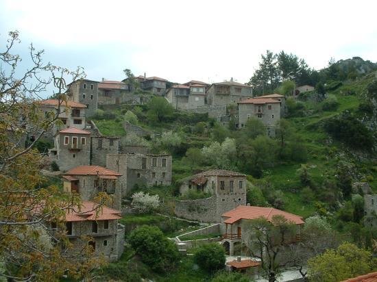 Hotel Dimitsana : Dimitsana village