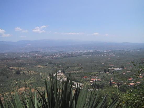 Sparta, Grèce : View form Mystras