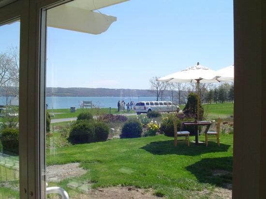 Cayuga Lake Wine Trail: Cayuga Lake from Sheldrake Point