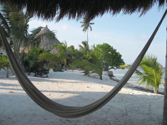 Balamku Inn on the Beach: Purfect place to catch a nap