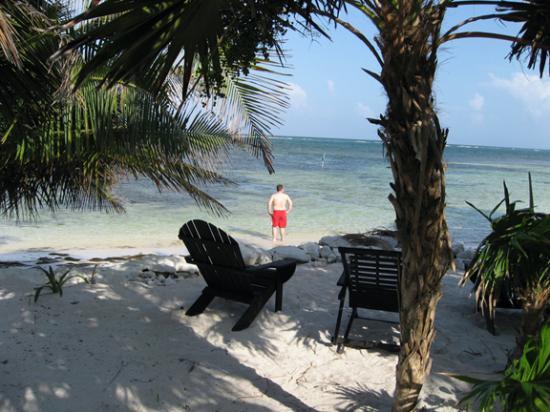 Balamku Inn on the Beach: Beautiful beach, warm water
