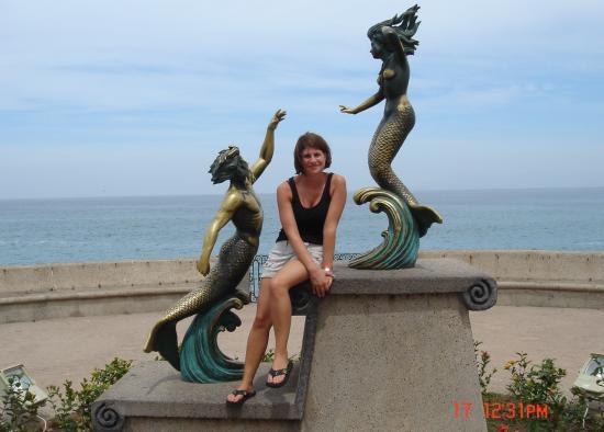 Nuevo Vallarta, Mexique : Kristy and Fishpeople
