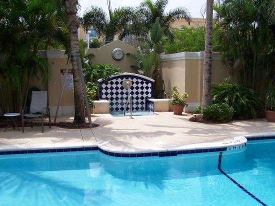 Hampton Inn Ft. Lauderdale Plantation: Outdoor Spa View