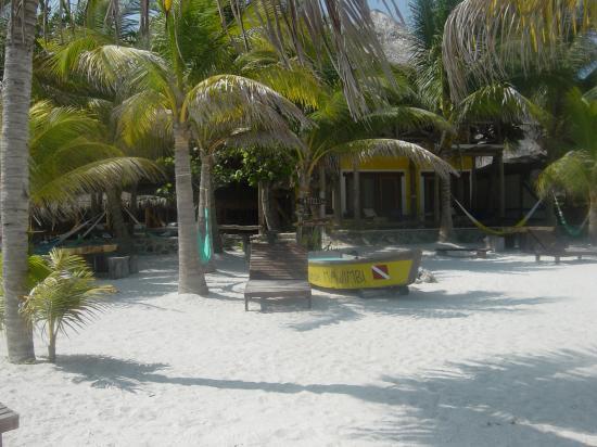 Holbox Hotel Mawimbi: from the beach