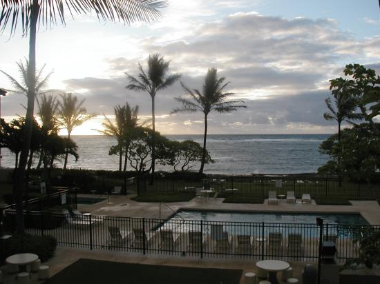 WorldMark at Kapaa Shores: The view from our patio - beautiful!