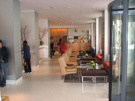 James Hotel Lobby Front Desk Is To The Left Picture Of