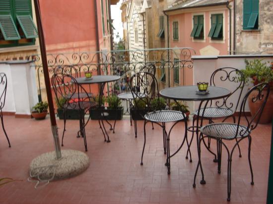 La terrazza - Picture of L\'Antica Terrazza, Monterosso al Mare ...