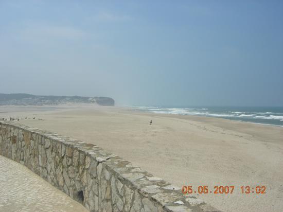 Leiria, Portugal: Foz do Arelho beach