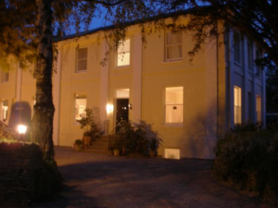 Hilden Lodge: We spent most of the day out-and-about, but here's the hotel at night!