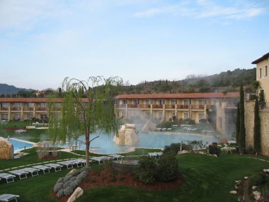 Hotel Adler Thermae Spa & Relax Resort: Vista dalla nostra camera hotel Adler