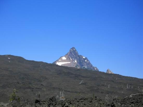 Willamette National Forest: Mt Jefferson? Lava beds