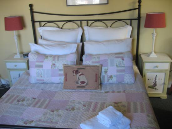 Boogaard's Bed and Breakfast: Jack Russell Room - pick a pillow!