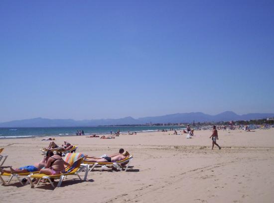 H·TOP Molinos Park: salou beach to the right