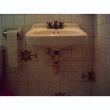 Hotel Agave Azul: Bathroom
