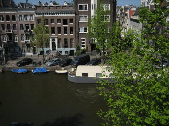 Singel Hotel Amsterdam: View from room