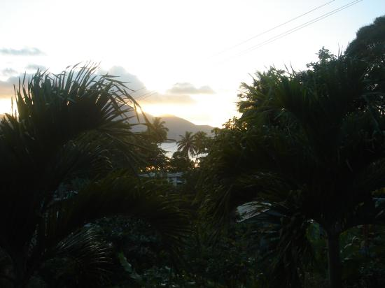 Calibishie Lodges: View from our lodge