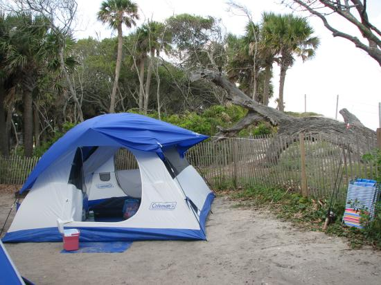 Edisto Beach State Park Our Tent