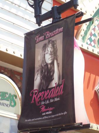 Toni Braxton: Revealed : Ad for Toni's show on LV Blvd