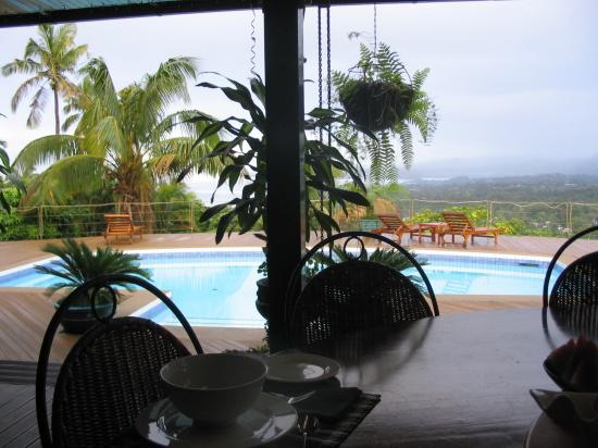 Homestay Suva: Homestay - View from the Porch