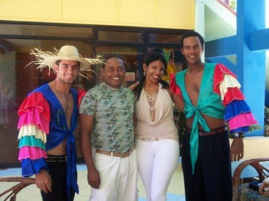 Club Amigo Caracol: entertainment staff and mc's