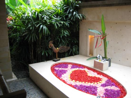 Jamahal Private Resort & Spa : Outdoor bathroom