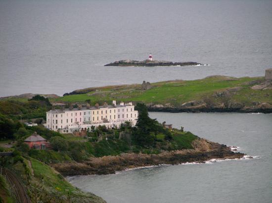 Fitzpatrick Castle Hotel Dublin Dalkey Island