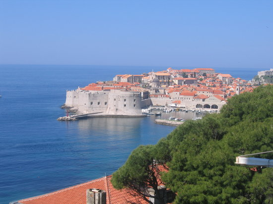 Dubrovnik, Croatia: View out our window