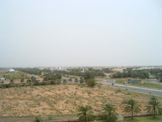 Hilton Al Ain: view from balcony