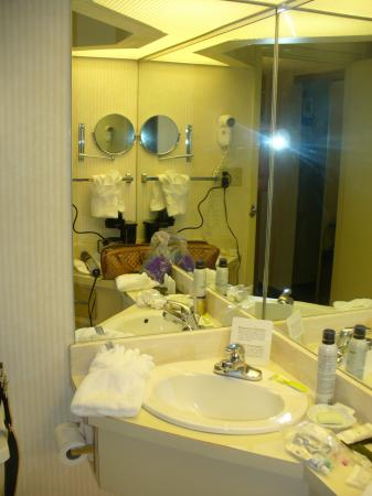 Holiday Inn Executive Center - Columbia: Small bathrooms, but nice amenities