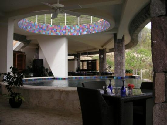 Jade Mountain Resort : Jade Mountain Club - Bar/Restaurant 1