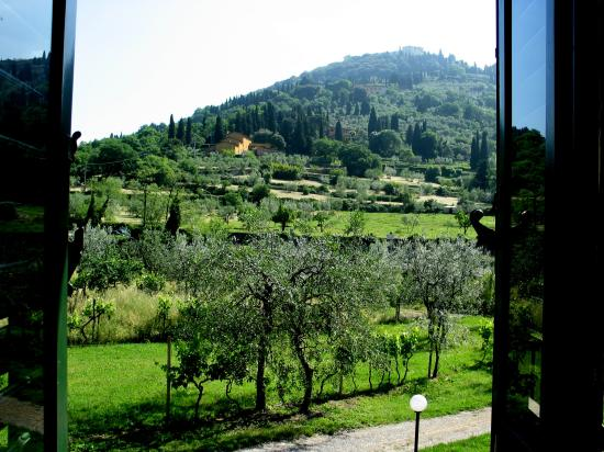 IL Torrino Bed and Breakfast: view of Fiesole from bedroom window