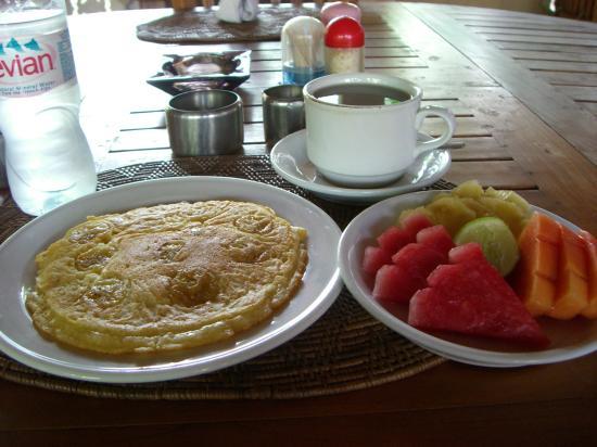 Balisandy Resort: banana pancake