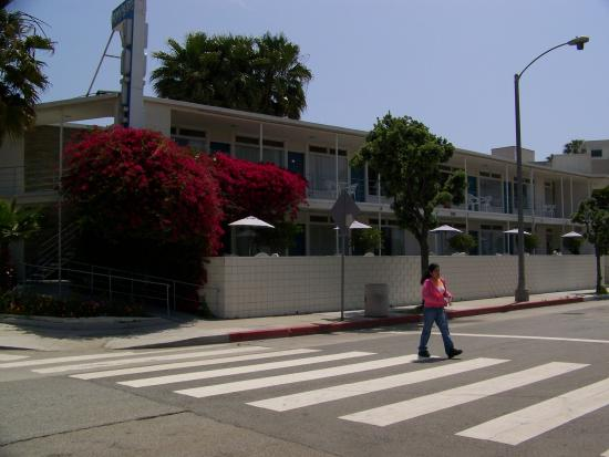 hotel view from ocean avenue picture of bayside hotel santa rh tripadvisor co uk