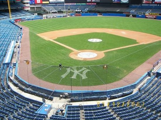 Bronx, État de New York : View from press box