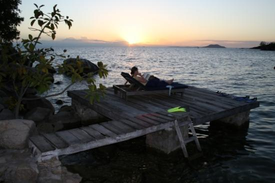 Kaya Mawa: Just another Likoma Island Sunset