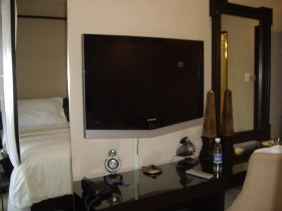 The Boutique Bed & Breakfast: LCD TV