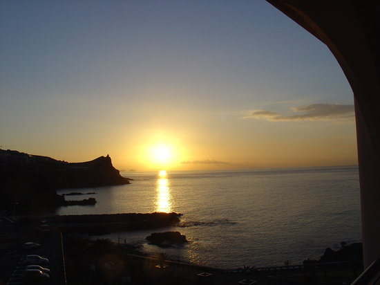 Madeira, Portugal: sunrise over canico