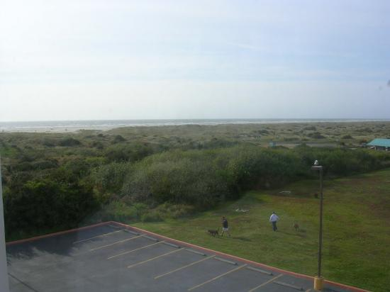 Ocean Shores, WA: view from our window toward beach