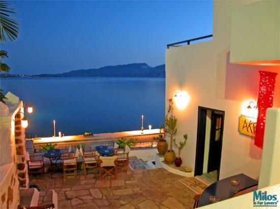 Αδάμαντας, Ελλάδα: Adamas - Akri bar