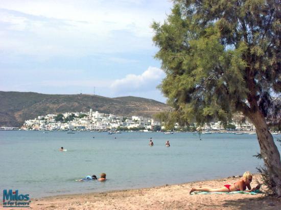 Milos by, Grækenland: Milos - Papikinou beach
