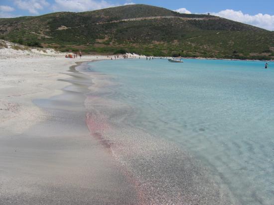 Sardinia, Italy: Spiaggia di Zafferano nella riserva militare