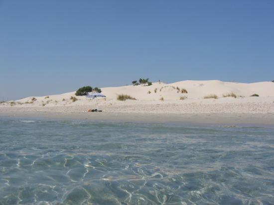 Sardinië, Italië: le dune di porto pino