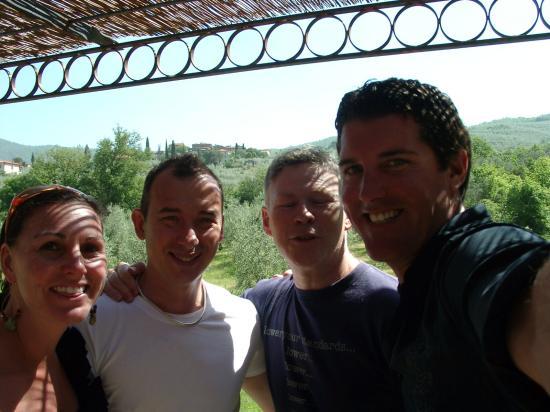 Casa Portagioia: Marcello & Terry, Big Head & Lelsie