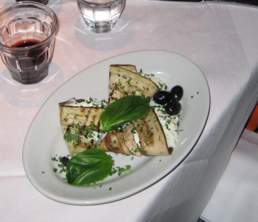 Hotel Europa: A yummy eggplant dish